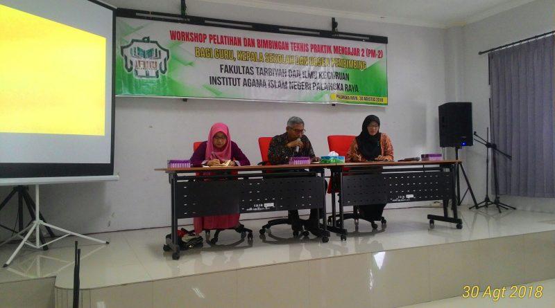 FTIK Adakan Workshop Pelatihan dan Bimbingan Teknis Praktek Mengajar 2
