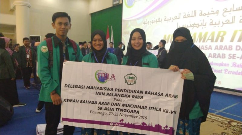 Mahasiswa PBA Ikuti Muktamar dan Kemah Bahasa Arab se-Asia Tenggara.