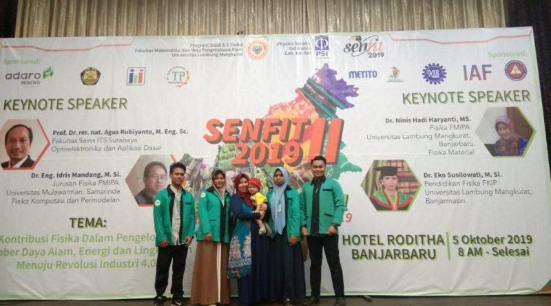Mahasiswa Tadris Fisika Jadi Pemakalah di Seminar Nasional